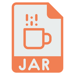 File, Format, Document, Jar, Java, Extension, Programming Icon