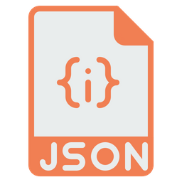 File, Format, Document, Json, Extension, Programming, Coding Icon