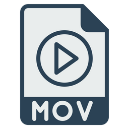 File, Format, Document, Mov, Movie, Video, Extension Icon