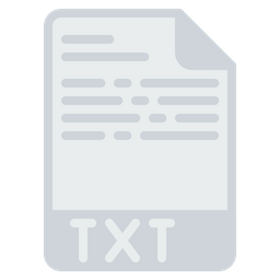 File, Format, Document, Text, Txt, Extension, Notepad Icon