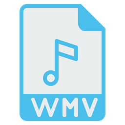 File, Format, Document, Wmv, Video, Compress, Extension Icon