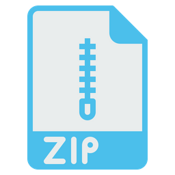 File, Format, Document, Zip, Archive, Composed, Compress Icon