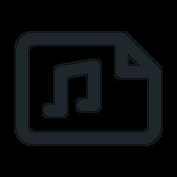 File landscape audio Icon