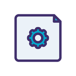 File Setting Icon