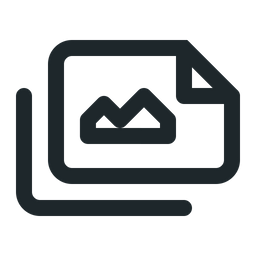 Files landscape image Icon