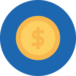 Finance, Business, Currency, Money, Dollar, Sign, Salary Icon