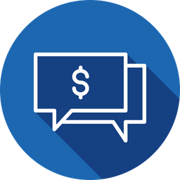Finance, Business, Money, Talk, Chatting, Message Icon png