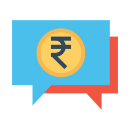 Finance, Business, Money, Talk, Chatting, Message Icon