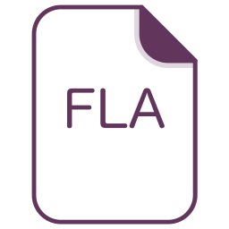 Fla, File, Document, Extension, Filetype Icon