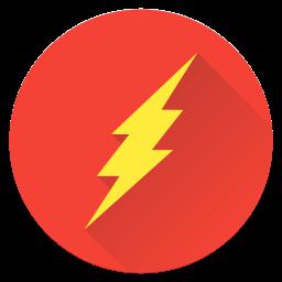 Flash, Dc, Superhero, Fastest, Man, Hero, Justice, League, Earth, Saver Icon