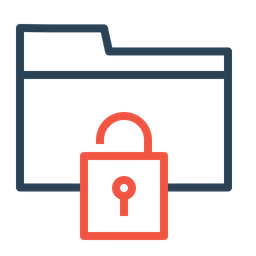 Folder, Documents, Holder, Security, Unlock, Nopassword, Access Icon