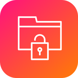 Folder, Documents, Holder, Security, Unlock, Nopassword, Access Icon