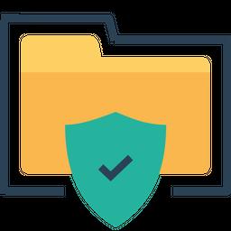 Folder, Optimization, Documents, Holder, Shield, Secure, Seo Icon