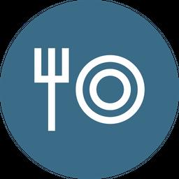 Food, Beverage, Restarunt, Service, Fork Icon