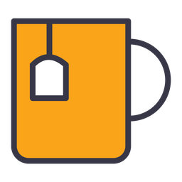 Food Colored Outline Icon