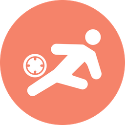 Football Hit Rounded Icon