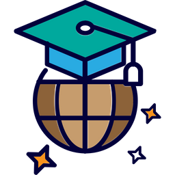 Foreign Study Icon Of Colored Outline Style Available In Svg Png Eps Ai Icon Fonts