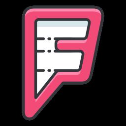 Foursquare Logo Icon