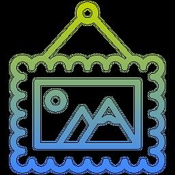 Frame Gradient Icon