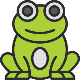 Frog Icon Of Colored Outline Style Available In Svg Png Eps Ai Icon Fonts