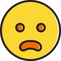 Frowning face with open mouth Emoji Icon