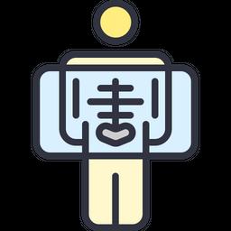 Full Body Checkup Icon