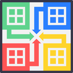 Game Colored Outline Icon