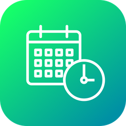 Game, Schedule, Calendar, Deadline, Timer, Date, Time Icon
