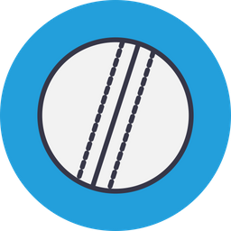 Game, Sports, Sport, Cricket, Test, Ball, Bowling Icon