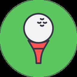 Game, Sports, Sport, Golf, Stick, Ball, Aim Icon