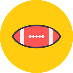 Game, Sports, Sport, Rugby, Ball, Football, Americanfootball Icon