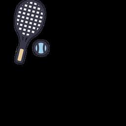 Game, Sports, Sport, Tennis, Racket, Ball, Play Icon