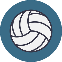Game, Sports, Sport, Volleyball, Beach, Ball, Play Icon