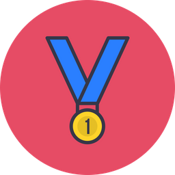 Game, Sports, Sport, Win, Winner, Medal, Prise Icon