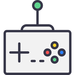 Game, Wire, Remote, Controller, Gamepad, Device, Joypad Icon