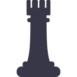 Games, Battle, Checkmate, Chess, Figure, Game, Rook Icon