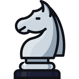 Games, Battle, Checkmate, Chess, Knight, Horse, Figure Icon
