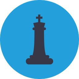Games, Battle, Chess, Checkmate, Figure, King, Board Icon