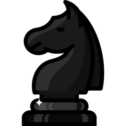 Games, Battle, Move, Chess, Knight, Horse, Figure Icon