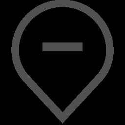 Geolocation, Hide, Minus, Delete, Pin, Tag, Mark Icon