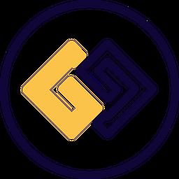 Gg Circle Colored Outline  Logo Icon