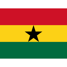 Ghana Flag Icon of Flat style - Available in SVG, PNG, EPS, AI & Icon fonts