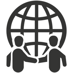 Global Business Partner Icon