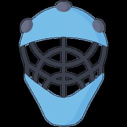 Goalkeeper Helmet Icon