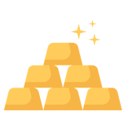 Gold Icon Of Flat Style Available In Svg Png Eps Ai Icon Fonts