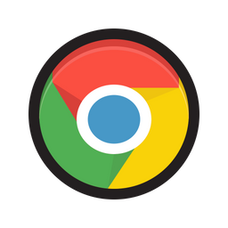 Google Chrome Icon Of Colored Outline Style Available In Svg Png Eps Ai Icon Fonts