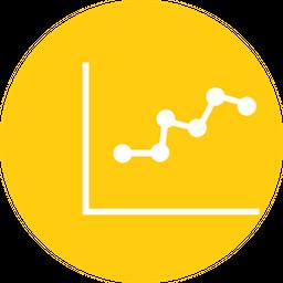 Graph, Analysis, Analytic, Finance, SEO, Business, Marketing Icon