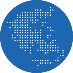 Greece, Greek, Country, Map, Nation Icon