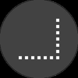 Grid, Tool, Snap, Box, Bound, Edge Icon