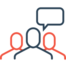 Group, Chat, Men, Conversation, Reply, Talk, Users Icon
